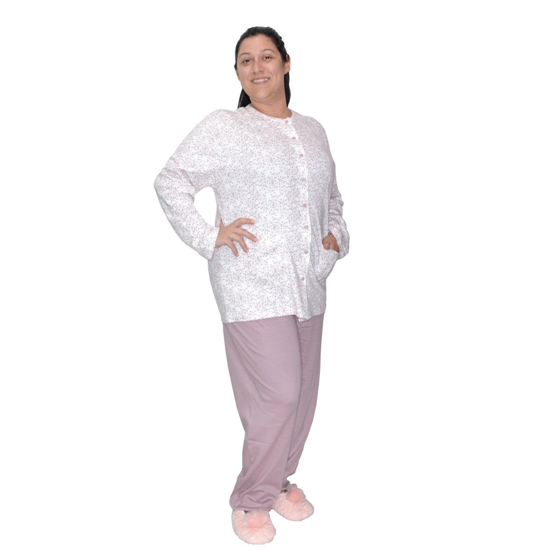 Karelpiu Πυτζάμα Γυναικεία σε Μώβ ανοιχτό χρώμα  c3947765237