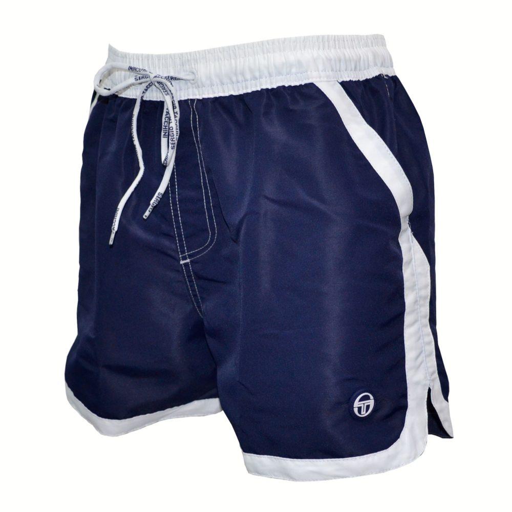 b8f9a3618b8 Sergio Tacchini Μαγιώ Ανδρικό Shorts σε Μπλέ χρώμα