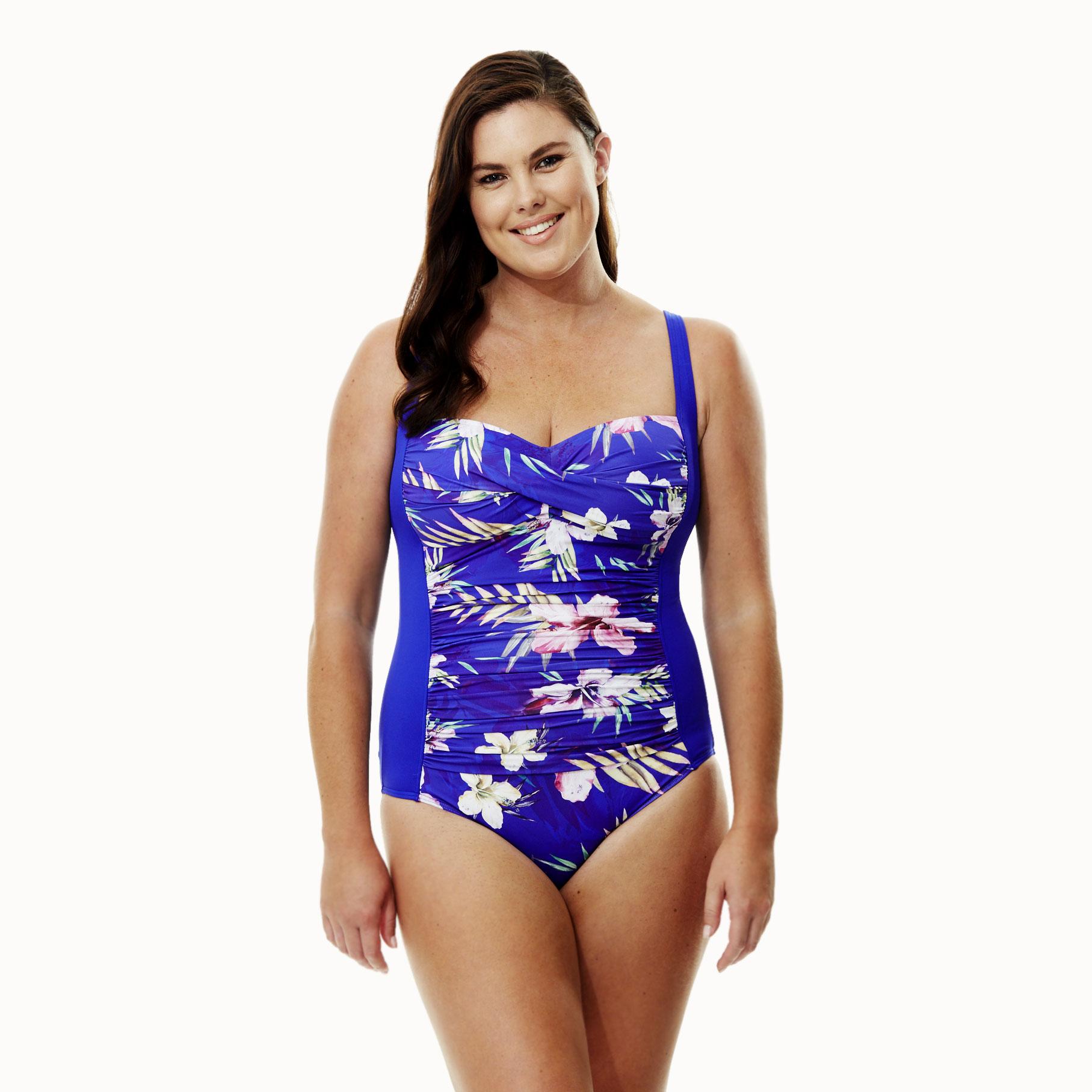 03812055f962 QUAYSIDE Μαγιώ Ολόσωμο σε Γαλάζιο Floral χρώμα | Sexy Melia