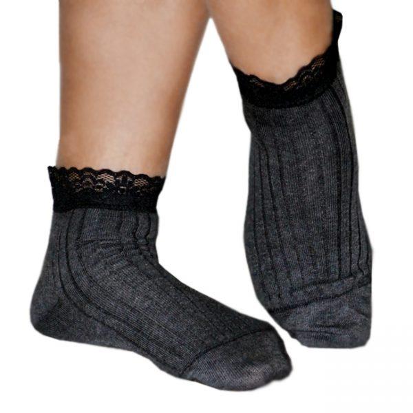 Γυναικείες Κάλτσες Καλτσομπότα dal Μαύρο Ανθρακί Μπλε  ad8fa42581a